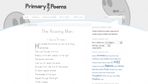 Primary Poems - Overview